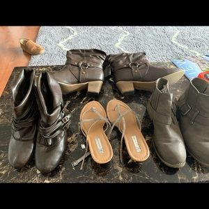 Shoes - Boots and sandal all In great condition